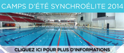 Synchro elite de quebec club de nage synchronis e depuis for Club piscine quebec qc